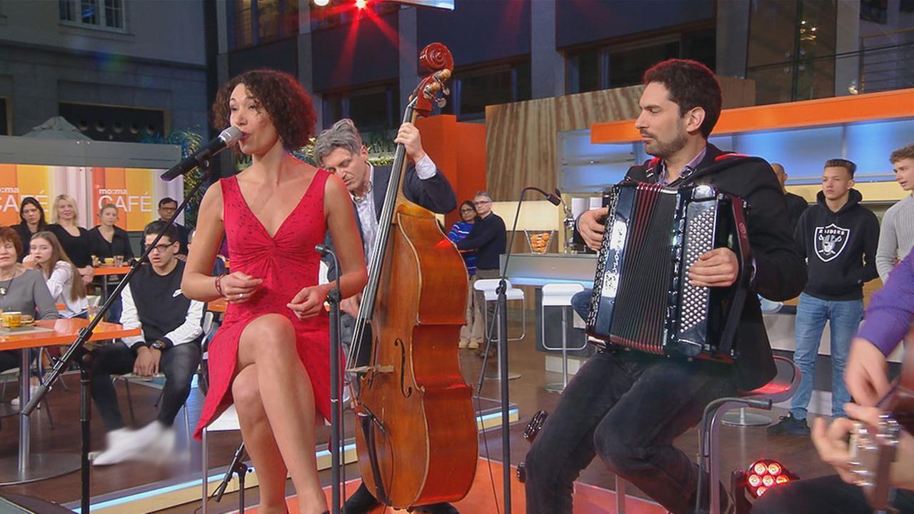 Mélinée beim Morgenmagazin von ZDF
